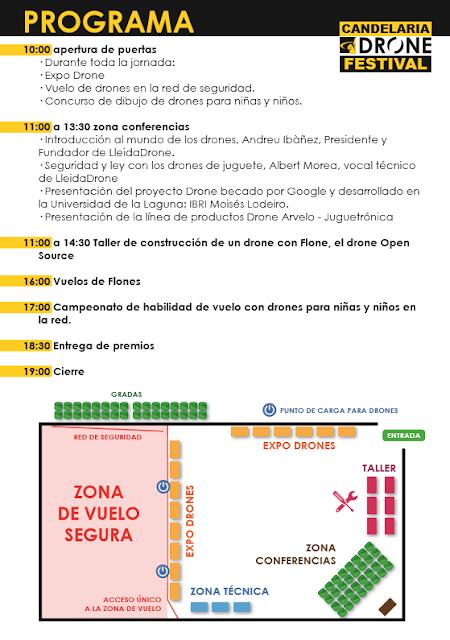 El #CandelariaDrone Festival a punto para el 3 de septiembre en #Tenerife @AytoCandelaria