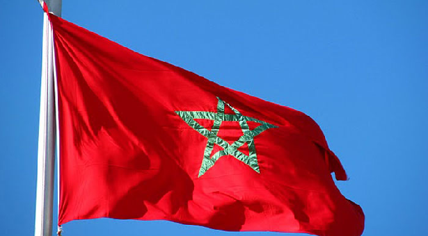 Image result for morocco flag and president