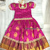 PInk Pattu Lehenga for Kids