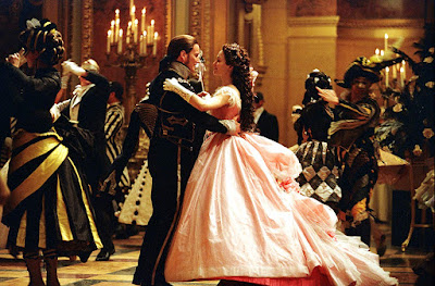 The Phantom of the Opera 2004 movie musical masquarade Emmy Rossum Patrick Wilson