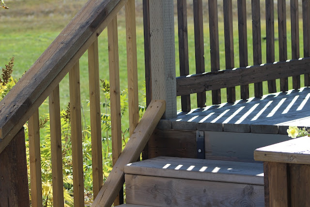 Deck and stair rail