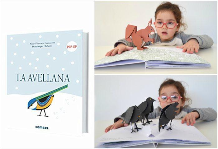 cuentos infantiles especiales sorprendentes asombrosos regalar navidad avellana combel pop-up