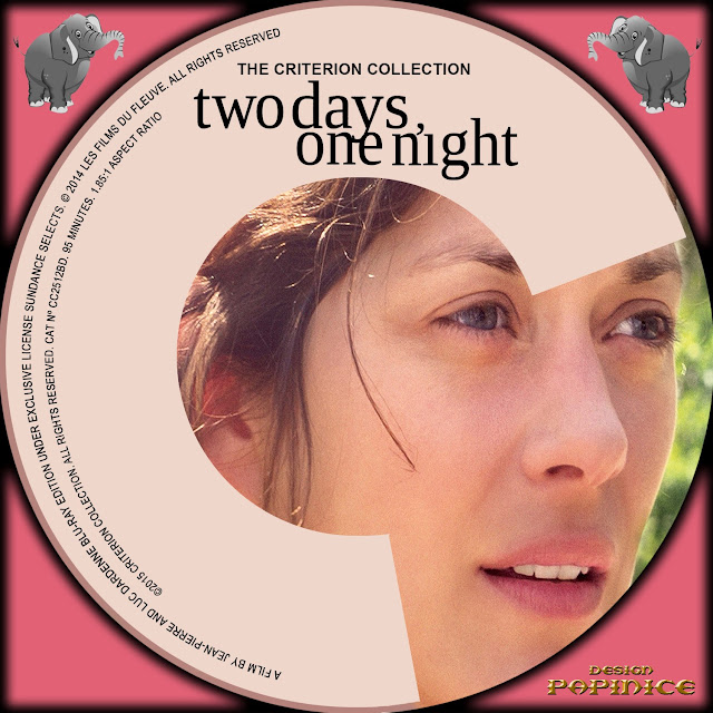 Two Days One Night Bluray Label
