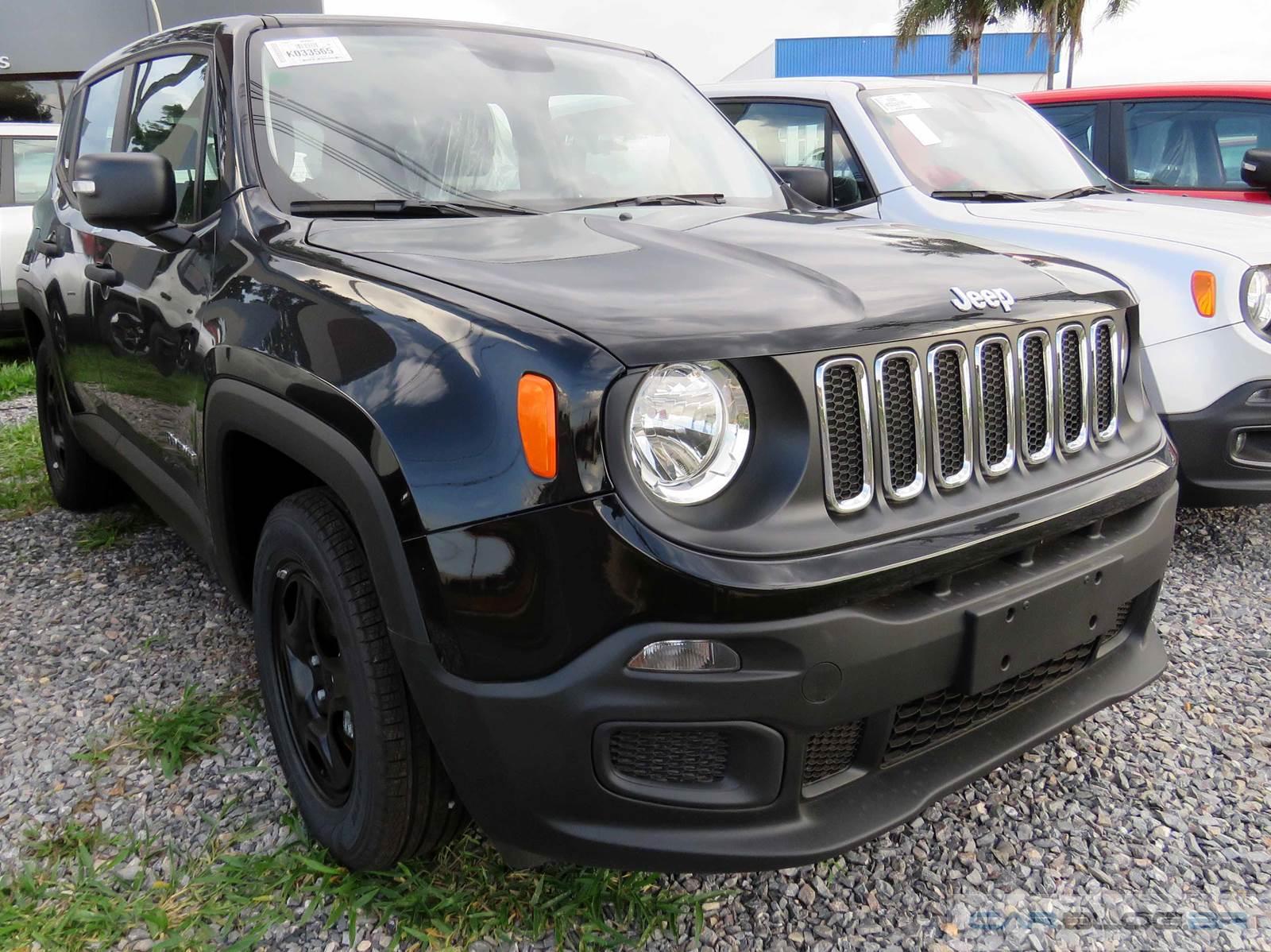Jeep Renegade Automático 2016 para Deficientes