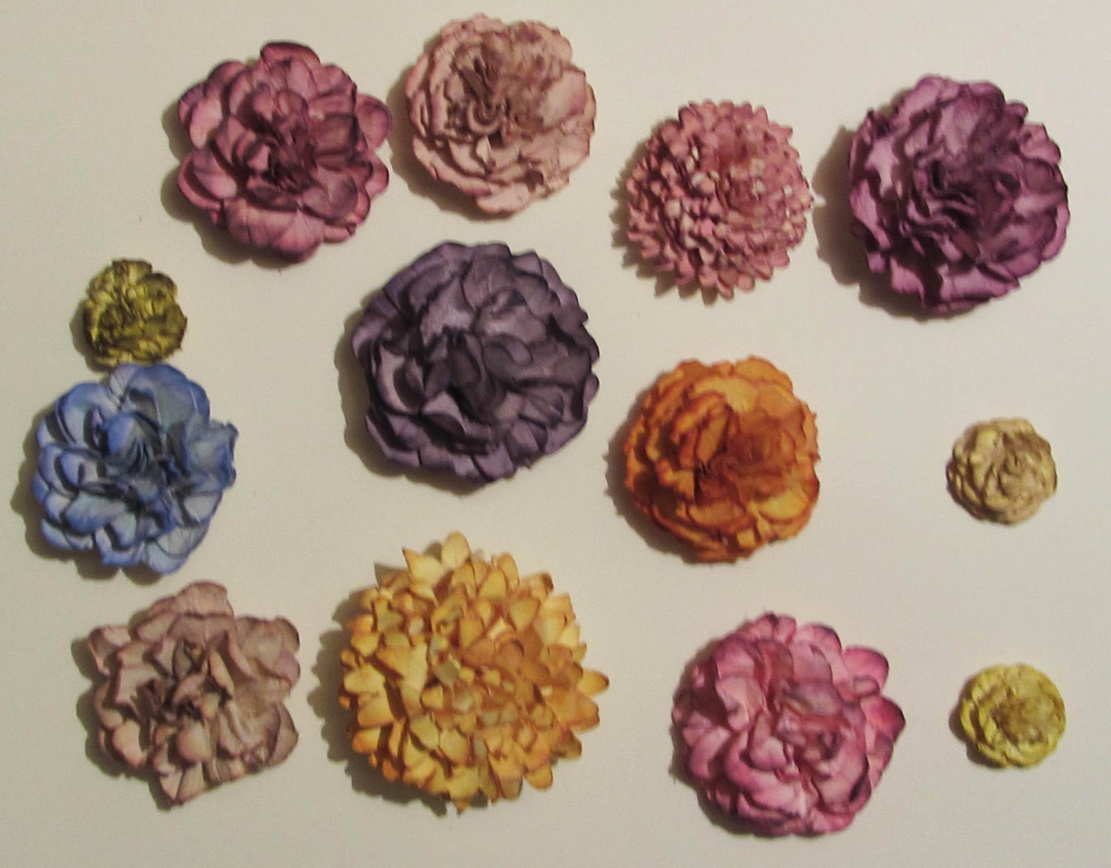 Artistic Craft Dabbler Step By Step Paper Flowers And A Bloomin
