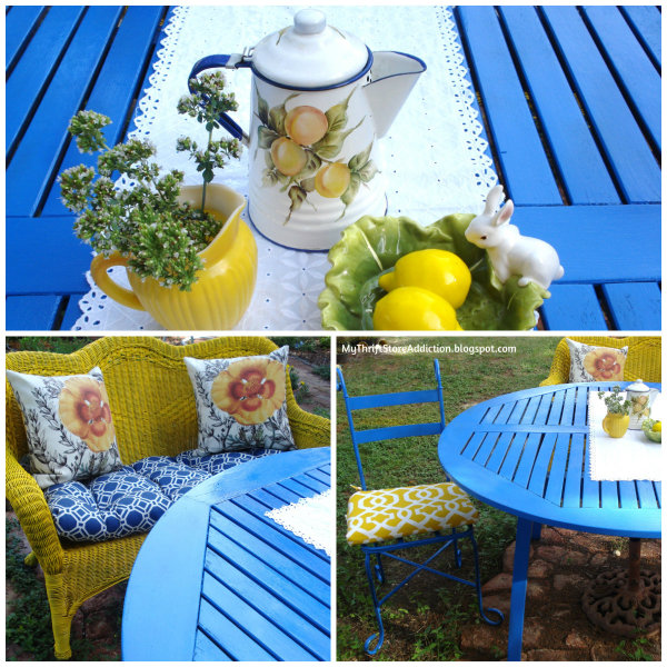 The Top 5 Things to Look for at Yard Sales mythriftstoreaddiction.blogspot.com 1. Patio furniture that can be refreshed with paint