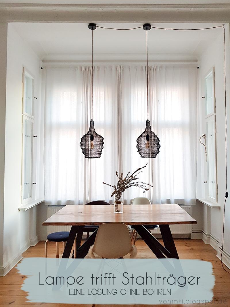 Gut gemocht Wie man trotz Stahlträger eine Lampe anbringt | von mri XL39
