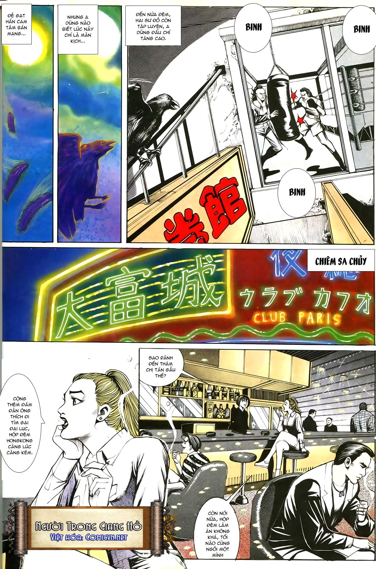 Người Trong Giang Hồ chapter 193: mưu kế đầy bụng trang 19