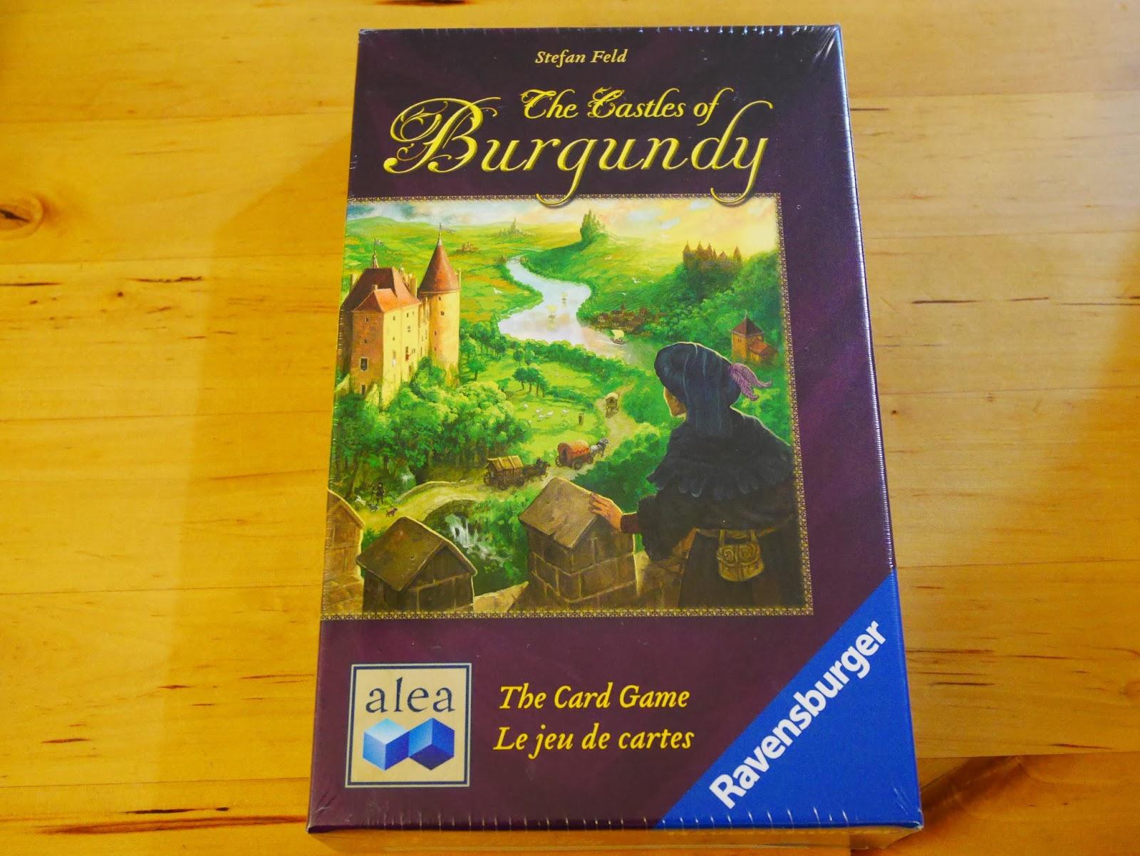勃根地城堡卡牌版 The Castles of Burgundy: The Card Game 開箱 心得 | 一起聊桌遊!!!