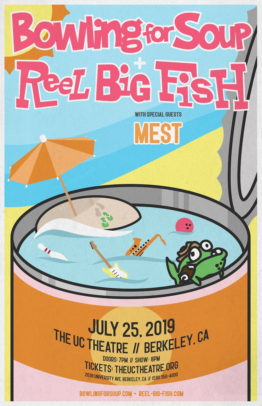 7/25: Bowling For Soup & Reel Big Fish