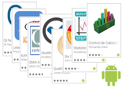 Android gratuitas recomendadas para Gestión de la Calidad