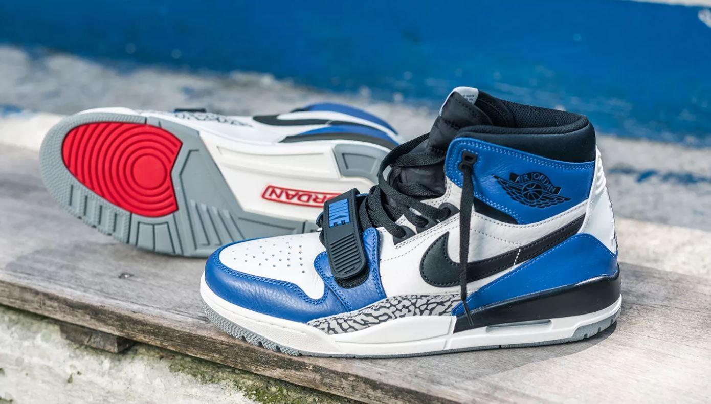 the latest da456 58448 THE SNEAKER ADDICT: Don C Air Jordan Legacy 312 'Storm Blue ...