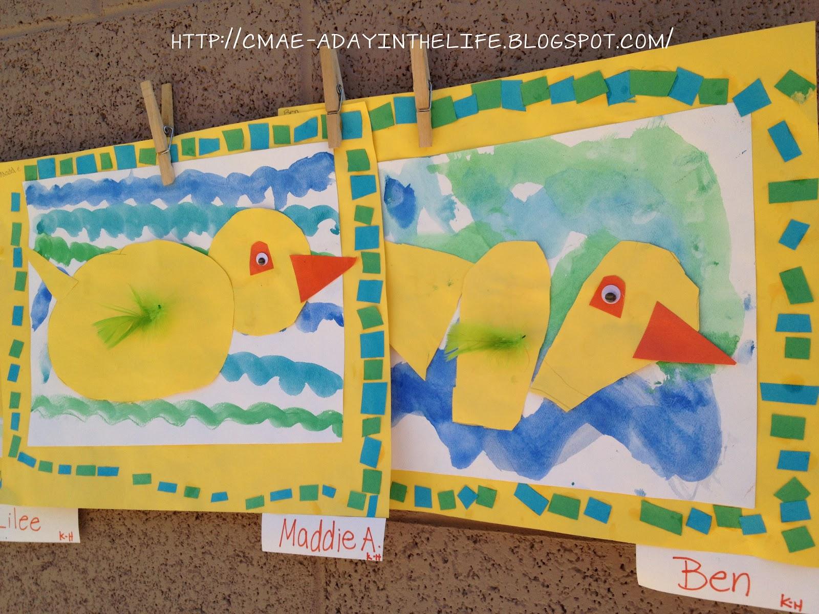 A Little Lovely Kinder Ducks