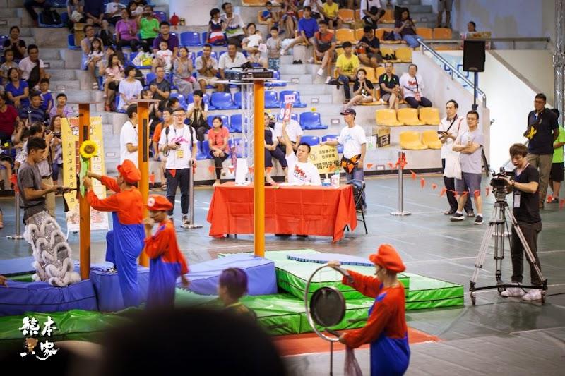 泰山獅王爭霸賽梅花樁獅藝競賽花絮泰山綜合體育館3F捷運泰山站