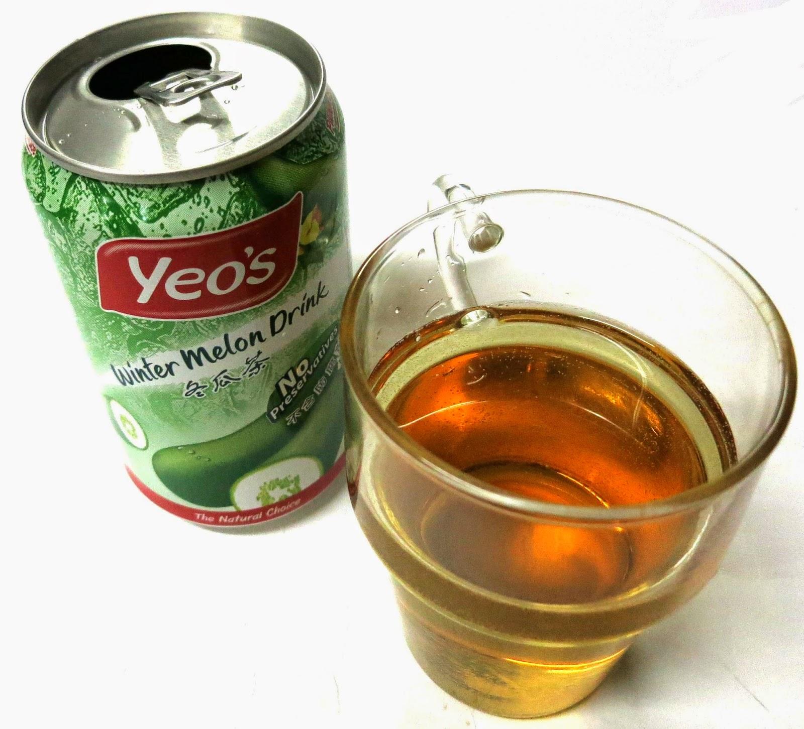 想 yummy, 就係咁 easy: 【手信推介篇】馬來西亞 Yeo's 冬瓜茶