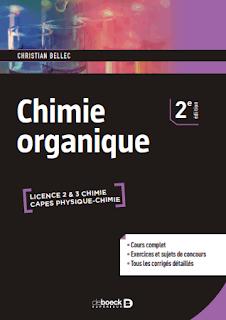 Livre : Cours Complet Chimie Organique , Exercice sujet d'examens Corrigée pdf