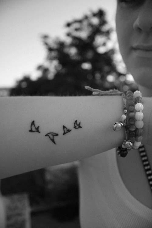 bird tattoo for girl kızlar için kuş dövme modelleri