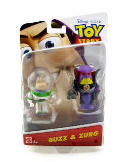 toy story toons small fry buzz and zurg figures