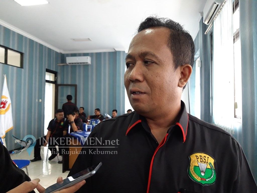 Pengkab PBSI Kebumen Dikukuhkan, Kepala Bappenda Jabat Ketua Umum