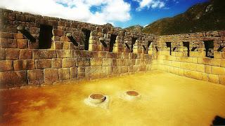 Palácio dos Morteiros no Bairro Industrial de Machu Picchu