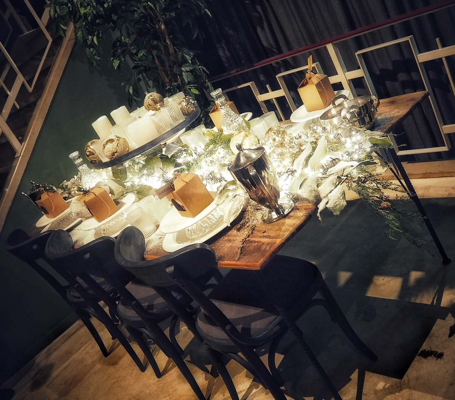 festive table Robbies Den Bosch