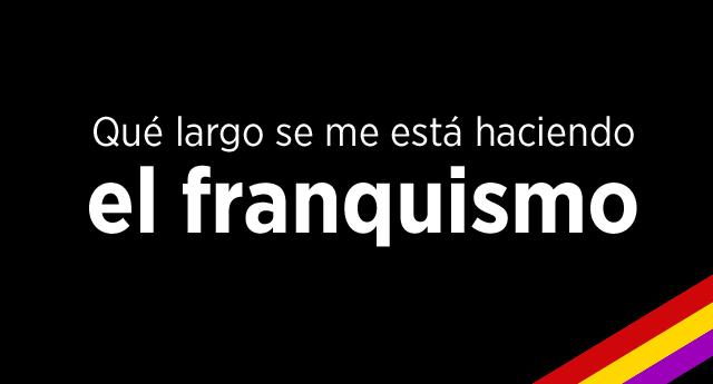 Ochenta días en silencio por las víctimas del genocidio franquista