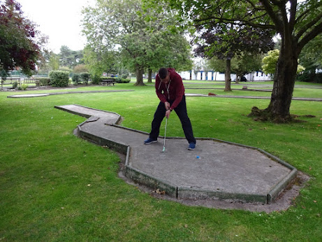 Crazy Golf at Lowther Gardens in Lytham
