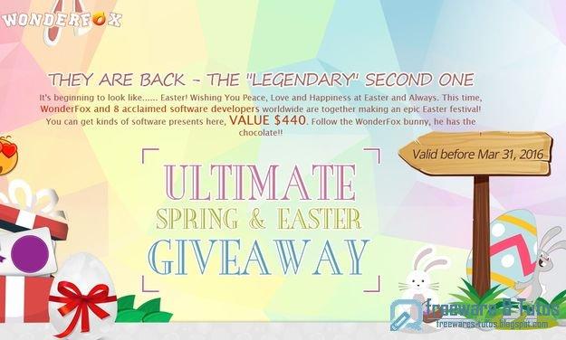 Offre promotionnelle : 9 logiciels commerciaux gratuits pour Pâques !