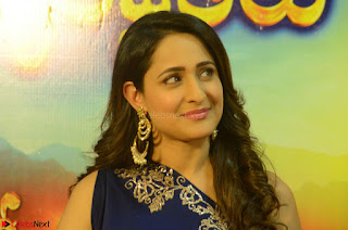Pragya Jaiswal in beautiful Blue Gown Spicy Latest Pics February 2017 112.JPG