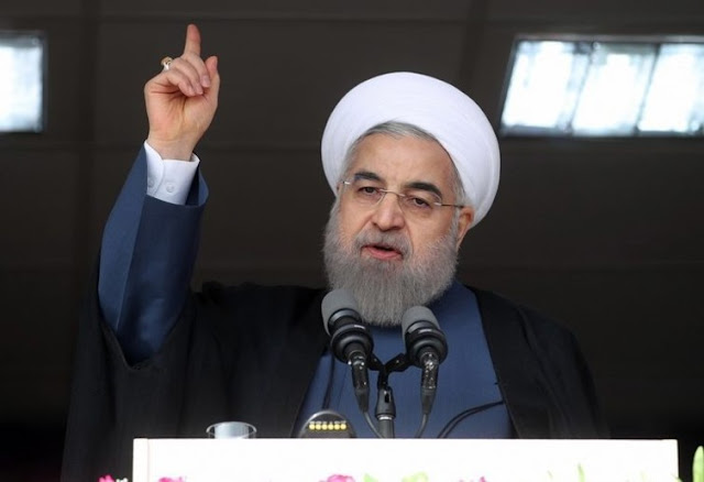 Image Attribute: Iran's future stability is dependent on whether Hassan Rouhani is re-elected. EPA