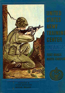 Souvenir book from Basic Training