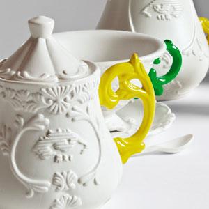Logo Matilde Vicenzi ti premia con le delicate porcellane Seletti e un weekend di Bonton