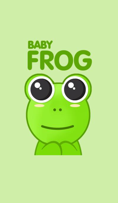 BABY FROG SO CUTE.