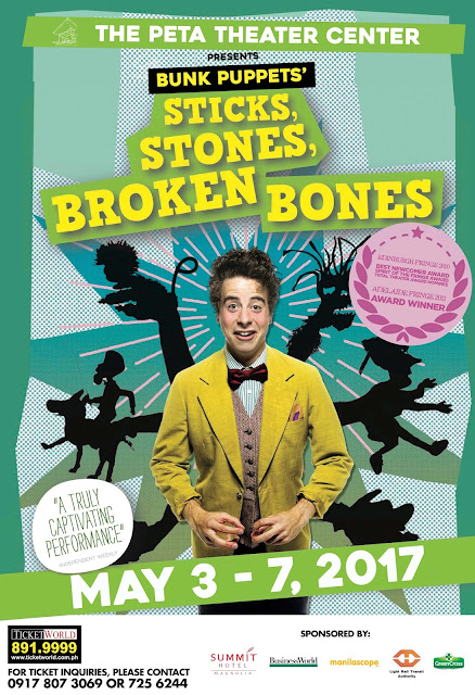 Sticks, Stones, Broken Bones comes to the Philippines this May!