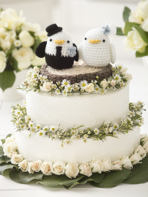 Crochet Mini Wedding Bears | 399x300