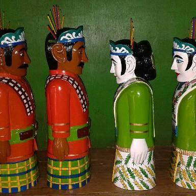 Kerajinan Patung Ondel - Ondel : jasa pembuatan & pengrajin kerajinan dari kayu