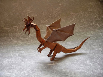 origami dragon instructions for kids