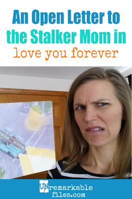 If you've ever raised your eyebrow at the classic children's book Love You Forever, you'll die laughing at this hilarious open letter to the mother who just can't let go. It is so funny. (If you loved the book and thought there was nothing weird about it… well, this open letter is probably not for you.) #funny #parentinghumor #hilarious #lol #laugh #openletter #loveyouforever