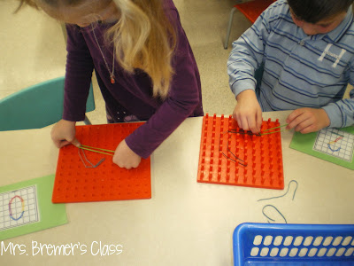Math centers for Kindergarten