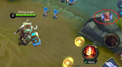 Tombol pasif 3 Courage Bulwark Mobile Legends