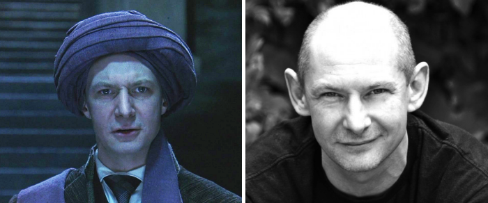 Actor Ian Hart as Professor Quirinus Quirrell