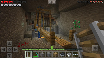 Tampilan Game Minecraft Pocket Edition