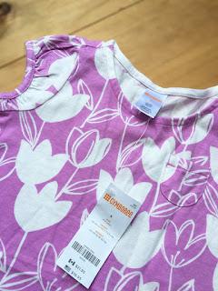 Đầm thun Gymboree, hàng xuất dư, made in vietnam.