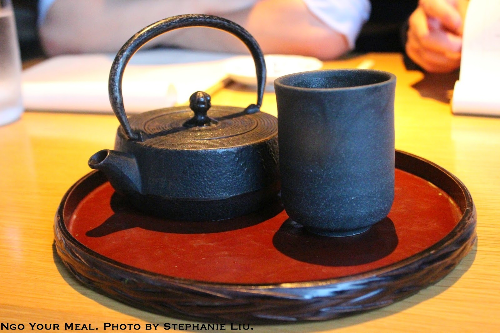 Roasted Rice Tea at EN Japanese Brasserie