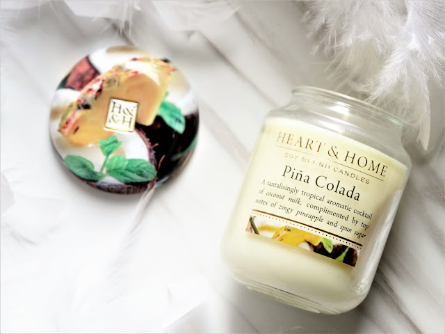 avis pina colada de Heart & Home, blog bougie, candle blog, bougie heart & home, candle review