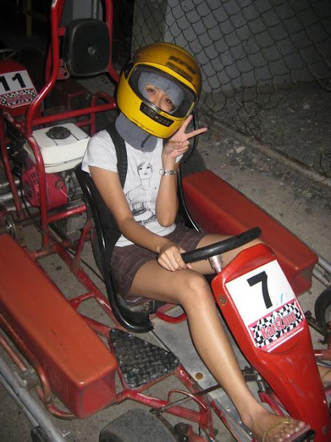 Jen at Kartzone Cebu