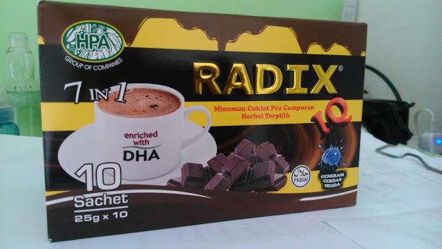 Produk Radix IQ