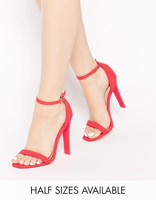 zapatos rojos para boda