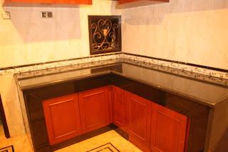 Contoh Dapur Granit