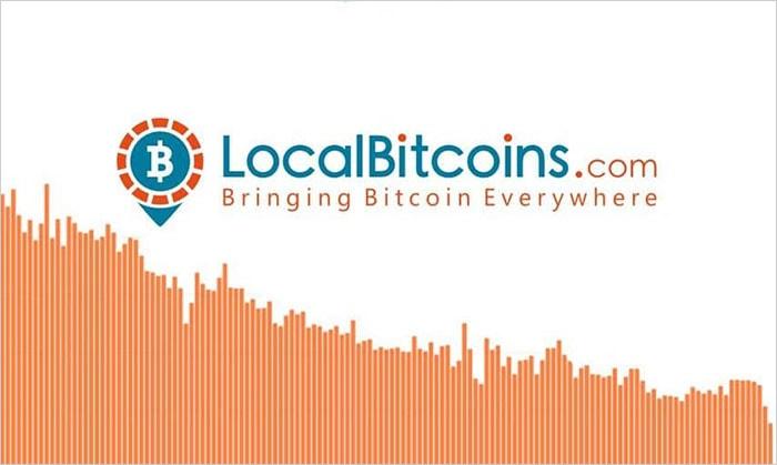 Снижение объема LocalBitcoins